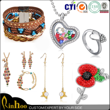 Free sample latest design best selling fashion jewelry wholesale