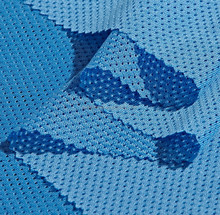 low price and warp knit of 100% polyester mesh fabric for sports shoes or clothing