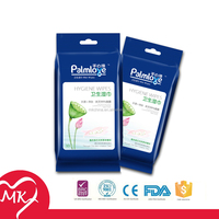 Pure plants extract acid butt skin care hygeine toilet roll wet wipes