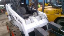 Backhoe wheel moving type used condition Bobcat S185 skid steer loader Bobcat S185 skid steer loader with hydraulic engine