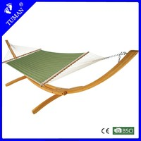 Double comfortable cotton filling patio bed swing