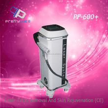 2015 promotion Portable tattoo removal/nd yag laser/Q Switch ND YAG Laser tattoo removal