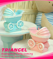 Cute Baby Pram Candle For Baby Shower Gifts