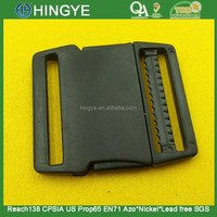 Black Color Plastic Buckles For Bags -- PD0180