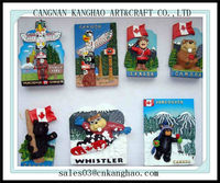 different type 3D Fridge Magnets sticker non-toxic resin