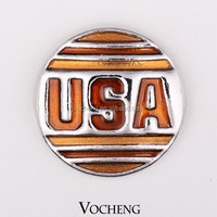 DIY Ginger Snaps Jewelry 20PCS/Lot Fashion USA Snap Button on Jewelry (Vn-287*20) Free Shipping