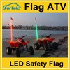 Offroad safety antenna flags 6ft 7ft atv led lights flag wh*ips