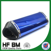 wholesale 125cc, 150cc, 250cc motorcycle muffler, stainless steel exhaust pipe