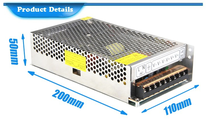 Transformer 220 110 Smps 5v 30a Switching Led Power Supply 150w Dc ...