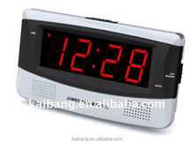 Large Digits LED Table Alarm Clock with DC power