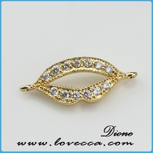 small MOQ fashion round micro pave jewelry ball