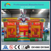 indoor inflatable rabbit bouncer,pony inflatable animal bouncy castle