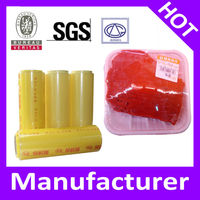 Plastic Soft PVC Clear Film For Weight 3kg/Roll