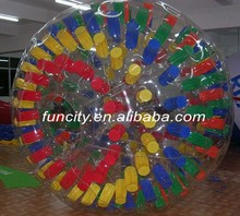 2015 New design durable grass zorbing ball/zorb ball for for kids and adults