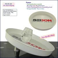 wholesale Anti-slip plastic bar serving tray