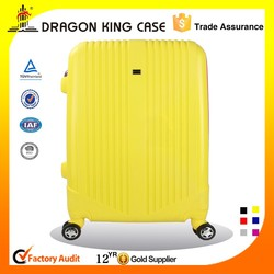Yellow travel bag in PP