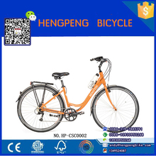 26inch new style steel frame and alloy wheel dutch classic city lady adult bicycle/bike