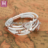 fashion 2014 handmade popular at high quality magnetic bracelet
