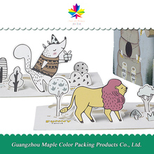 Promotional cartoon handmade birthday greeting card designs