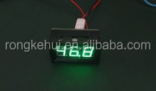 Green DC Digital Thermometer -30~+70 degree module