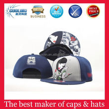acrylic embroidery sports children cap
