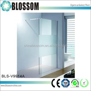 Australia estándar de vidrio templado puerta de la ducha de china fabricante de puertas de ducha
