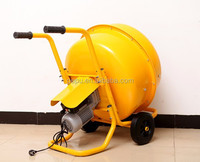 120-240Liter Electric Portable Cement Sand Mortar Concrete Mixer With One Year Warranty