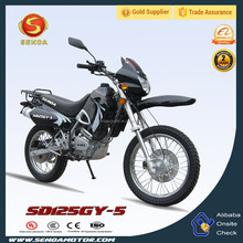 125CC/150CC New Style Dirt Bike Motorcycle Color Black SD125GY-5
