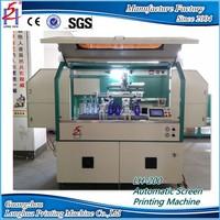 Multifunctional Washing Liquid Bottle Screen Printing Machine For Sale In Guangzhou
