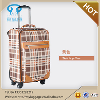 Aluminium Trolley Urban Luggage with Spinner Wheels suitcase set