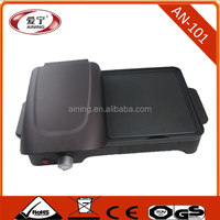 Professional Electric Grill and Griddle With Panini ,Humberger Making Function