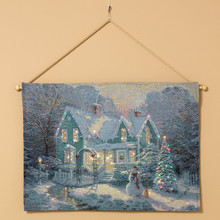 led home tapestry for hanging