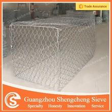Guangzhou factory retaining wall metal gabion wire mesh gabion cages