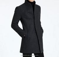 wool winter coat made to measure men overcoat BCZ026