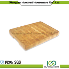 Personalized Bamboo Chopping Block End Grain, Bambu Chopping Board, Bamboo Thick Chopping Board