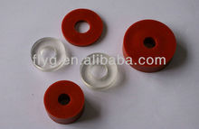 Silicone/VMQ Rubber Gasket/Flat Washer,good resistance to high temperature