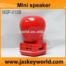 3.5mm stereo plug mini speaker, factory