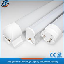 Zhongshan 7 years manufacturer mas 1.2m 18w t8 led hot coffe red tube 8