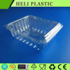 Disposable clear PET takeaway fruit and vegetable container