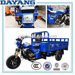 adult gasoline ccc 200cc cargo motor tricycle with cargo box cover with good quality