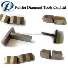 Diamond cobalt bond marble segment for granite blank saw blade