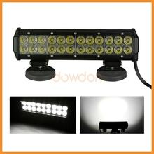 Zoom Highlight 60 Degree 24 LED Headlamp Auto Waterproof SUV Flood Beam Tube