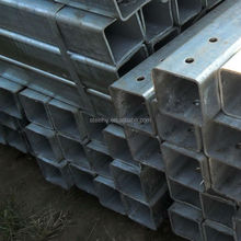 square galvanized tube/square tuebe sizes/hot dipped galvanized pipe