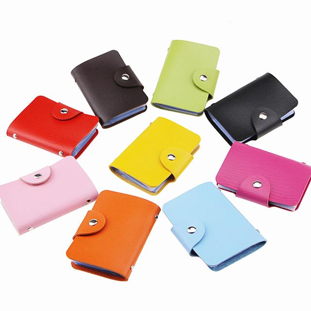 Manufactorers OEM benutzerdefinierte kreative werbung werbegeschenke multi kreditkarte ledertasche tasche