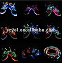 2012 the Most Popular Colorful flashing EL shoelace wire