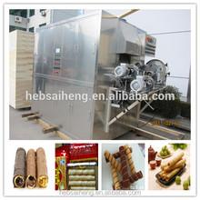 China Full Automatic Egg Roll Wafer Stick Making Machine