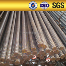 hot sales of optional alloy steel earth anchoring high bond screw thread bars with low manufacturer price