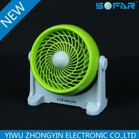Promotional Gift high quality mini usb fan USB mini fan cartoon usb mini fan