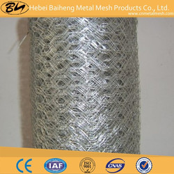 Fishing net/chiken wire fence