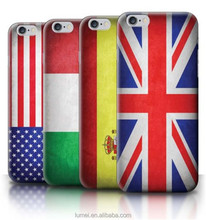 Printed World Country Flags Hard Case Bumper Cover For Apple iPhone 5&5S